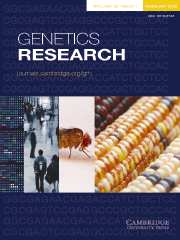 Genetics Research 90 cover